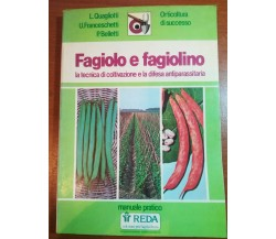 Fagiolo e fagiolino - AA.VV - Reda - 1984 - M