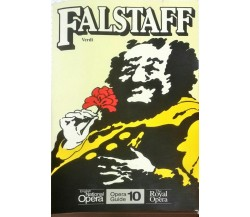 Falstaff (English National Opera Guide)- Giuseppe Verdi - Calder Publications -N