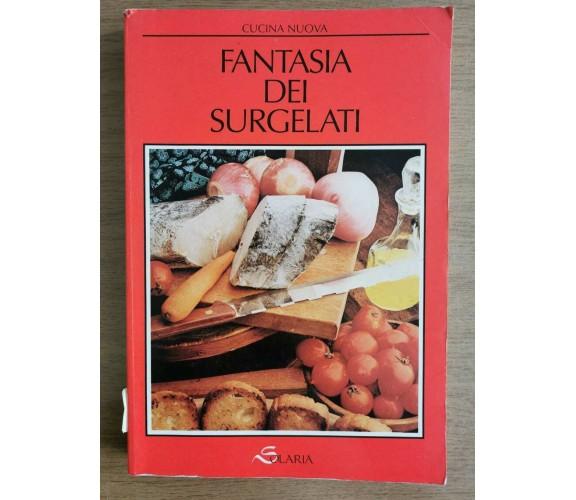 Fantasia dei surgelati - G. Bonomo - Solaria - 1989 - AR