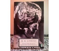 Fantasia of the unconscious di Lawrence,  1960,  Penguin Books . F