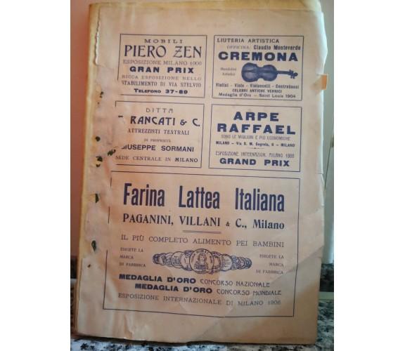 Farina lattea Italiana di Paganini E Villani,  1930,  Esp. Internazionale -F