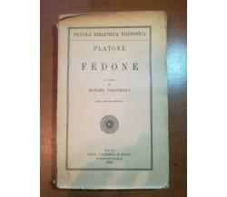 Fedone - Platone - Laterza - 1929  - M