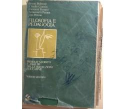 Filosofia e pedagogia 2 di Aa.vv.,  1978,  Sei