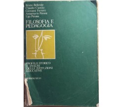 Filosofia e pedagogia 3 di Aa.vv.,  1979,  Società Editrice Internazionale
