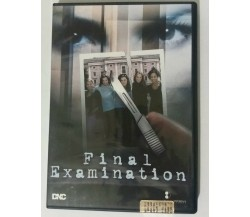 Final Examination - Fred Olen Ray - DNC - 2003 - DVD - G