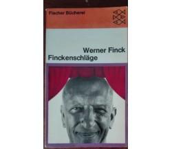Finckenschlage - Werner Finck - Fischer Bucherei, 1969 - A