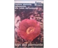Fiori del Piemonte-1979Regione Piemonte Assessorato Alla Tutela dell'ambiente S