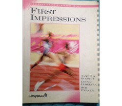 First impressions - S. Parker - Longman - 1989 - MP