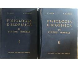 Fisiologia e biofisica I-II di T.c. Ruch - H.d. Patton,  1973,  Società Editrice