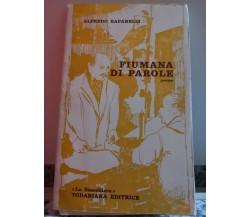 Fiumana Di Parole di Alfredo Rapanelli,  1972,  La Scacchiera T.D. -F
