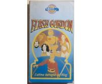 Flash Gordon - L'ultima battaglia dei Ming VHS di Aa.vv.,  1988,  Azzurra Home V