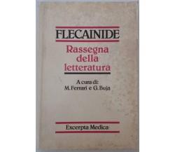 Flecainide, Rassegna della letteratura - AAv VV. - Excerpta Medica - 1986 - G