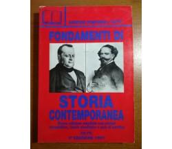 Fondamenti di storia contemporanea - AA.VV. - Concorsi per tutti - 1997 - M