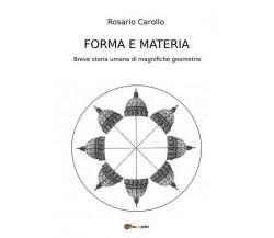 Forma e Materia - Breve storia umana di magnifiche geometrie (Carollo 2017) - ER