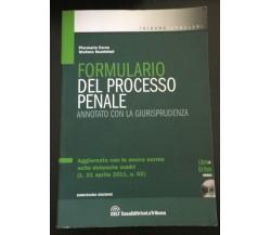 Formulario del processo penale: Annotato con la giurisprudenza - P