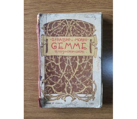Gemme - G. B. Garassini, C. Morini - Remo Sandron - 1905 - AR