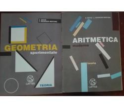 Geometria, Aritmetica - Bovio,Manzone Bertone - Lattes,1999 - A