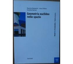 Geometria euclidea nello spazio - AA.VV. - Zanichelli,2009 - R