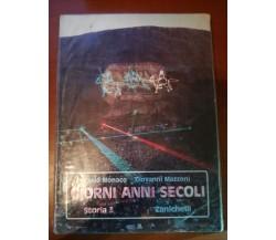 Giorni Anni Secoli - Carlo Monaco,Giovanni mazzoni - Zanichelli - 1988 - M