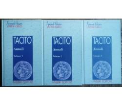 Gli Annali volume n. 1,2 e 3 - Tacito - Fabbri Editore,1995 - R