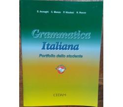 Grammatica Italiana - Asnaghi, Manzo, Nicolacci, Rocco -CEDAM,2005 - R