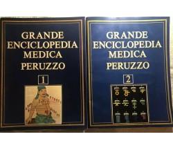 Grande enciclopedia medica Peruzzo 1-2 di Aa.vv.,  1976,  Alberto Peruzzo Editor