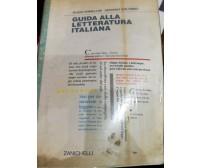 Guida alla letteratura italiana-Armellini-Colombo-1999-Zanichelli-lo
