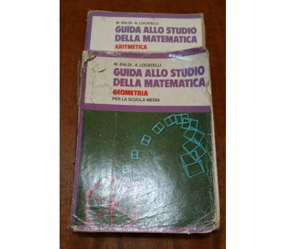 Guida allo studio della matematica ,Geometria e Aritmetica Editore:Fabbri   -GU
