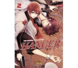 HANGER shikkounin - volume 2 di Hirotaka Kisaragi,  Manga Senpai