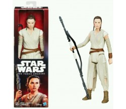 HASBRO - STAR WARS - THE FORCE AWAKENS - REY (JAKKU) - DISNEY - 30 cm.
