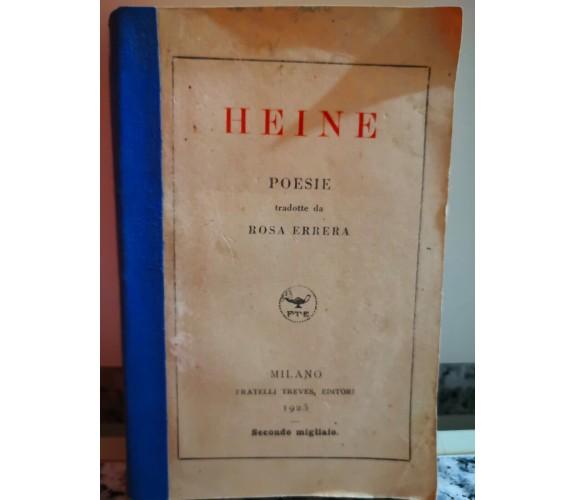 Heine di Rosa Errera,  1925,  Fratelli Treves-F