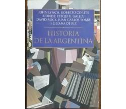 Historia de la Argetina - Lynch, Cortes Conde - Critica,2002 - A
