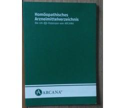Homoopathisches Arzeimettelverzeichnis - AA.VV. - Arcana,2006 - R