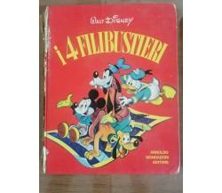 I 4 filibustieri - Disney - Mondadori - 1974 - AR