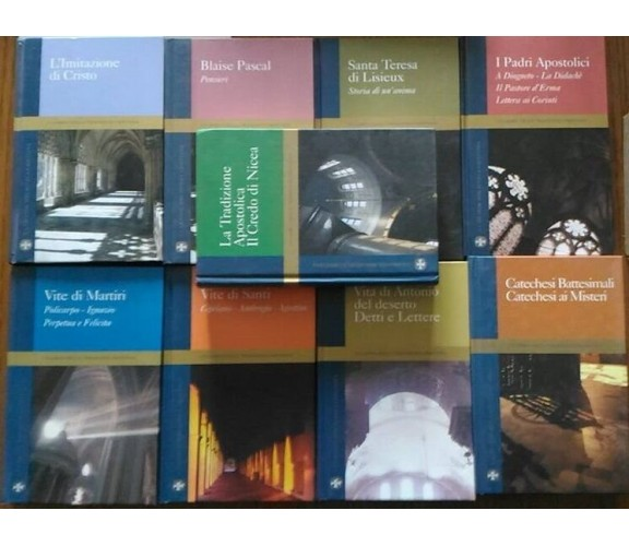 I Classici della Tradizione Cristiana - (stock 9 titoli) - Famiglia Cristiana