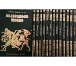 I GRANDI DELLA STORIA - MONDADORI 1970 - 1980 (numeri vari da 1 a 20) Ca