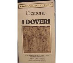 I doveri - Cicerone, Emanuele Narducci,  1987 - S