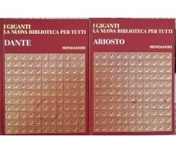I giganti: Ariosto e Dante, 1968,  Mondadori  - ER