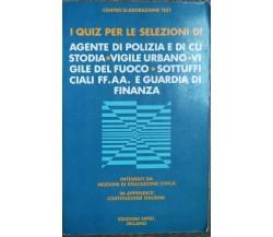 I quiz per le selezioni - AA.VV. - Edizioni SIPIEL,1987 - R