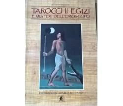 I tarocchi egizi e i misteri dell'oroscopo -Pitois (Lo Scarabeo, 1988) Ca