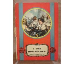 I tre moschettieri - A. Dumas - Fabbri editori - 1955 - AR