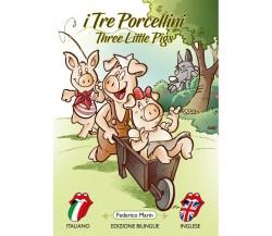 I tre porcellini - Three little pigs di Federico Marin,  2020,  Youcanprint