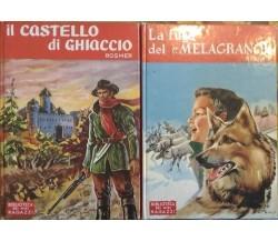 Il Castello di Ghiaccio - La fuga del Melagrano  di J. Rosmer - P. Besbre,  1962
