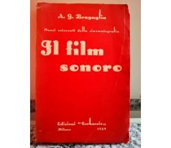 Il Film Sonoro di Bragaglia,  1929,  Corbaccio-F