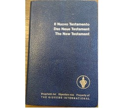 Il Nuovo testamento - Das Neue Testament - The New Testament	(Trilingue).,  1982