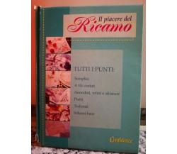 Il Piacere del ricamo , cofanetto con 8 libriccini di A.a.v.v,  2000,  -F