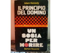 Il Principio del domino di Adam Kennedy,  1975,  Berton Rouechè-F