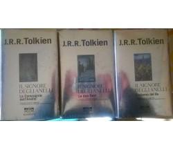 Il Signore degli Anelli la trilogia : J.R.R Tolkien Bompiani serie oro bompiani