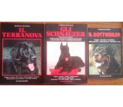 Il Terranova - Gli Schnauzer - Il Rottweiler - De Vecchi editore