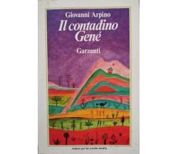 Il contadino Genè  di Giovanni Arpino,  1982,  Garzanti - ER